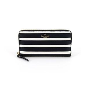 Kate Spade New York Leather Stripe Wallet